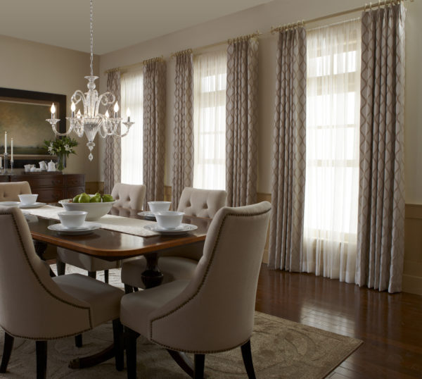 Draperies and Side Panels - Louisville Blinds & Drapery