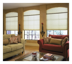 Specialty Shapes Cellular - Louisville Blinds & Drapery Louisville KY