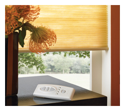Remote Controlled Cellular Shades - Louisville Blinds & Drapery Louisville KY