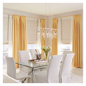 draperies and side panels - drapery - Louisville Blinds & Drapery